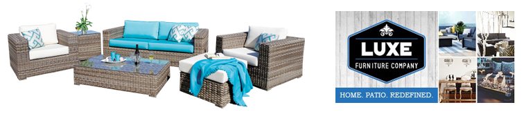 Save money on Patio Furniture at LUX Furniture Company